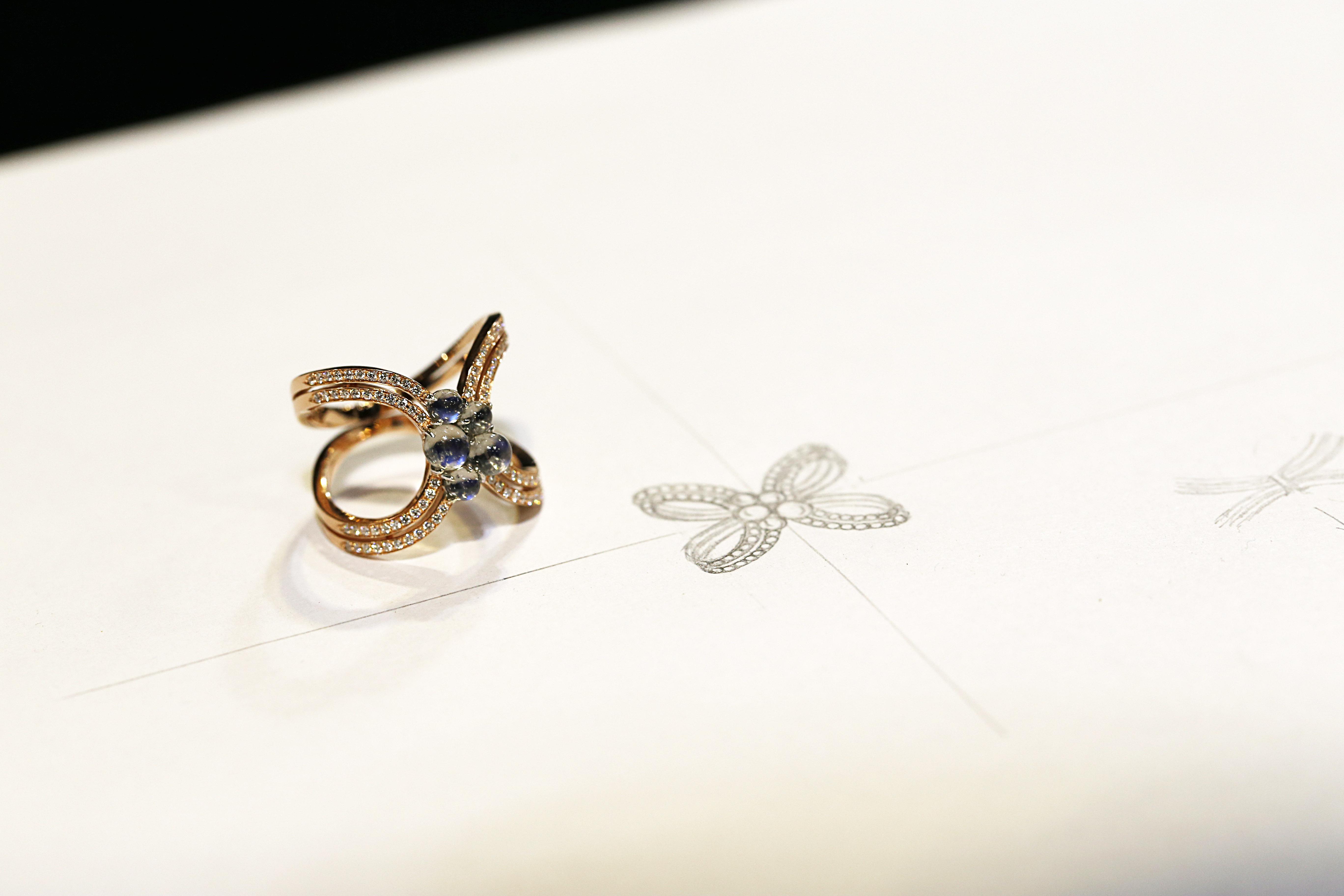 訂製珠寶_月光蝴蝶戒指