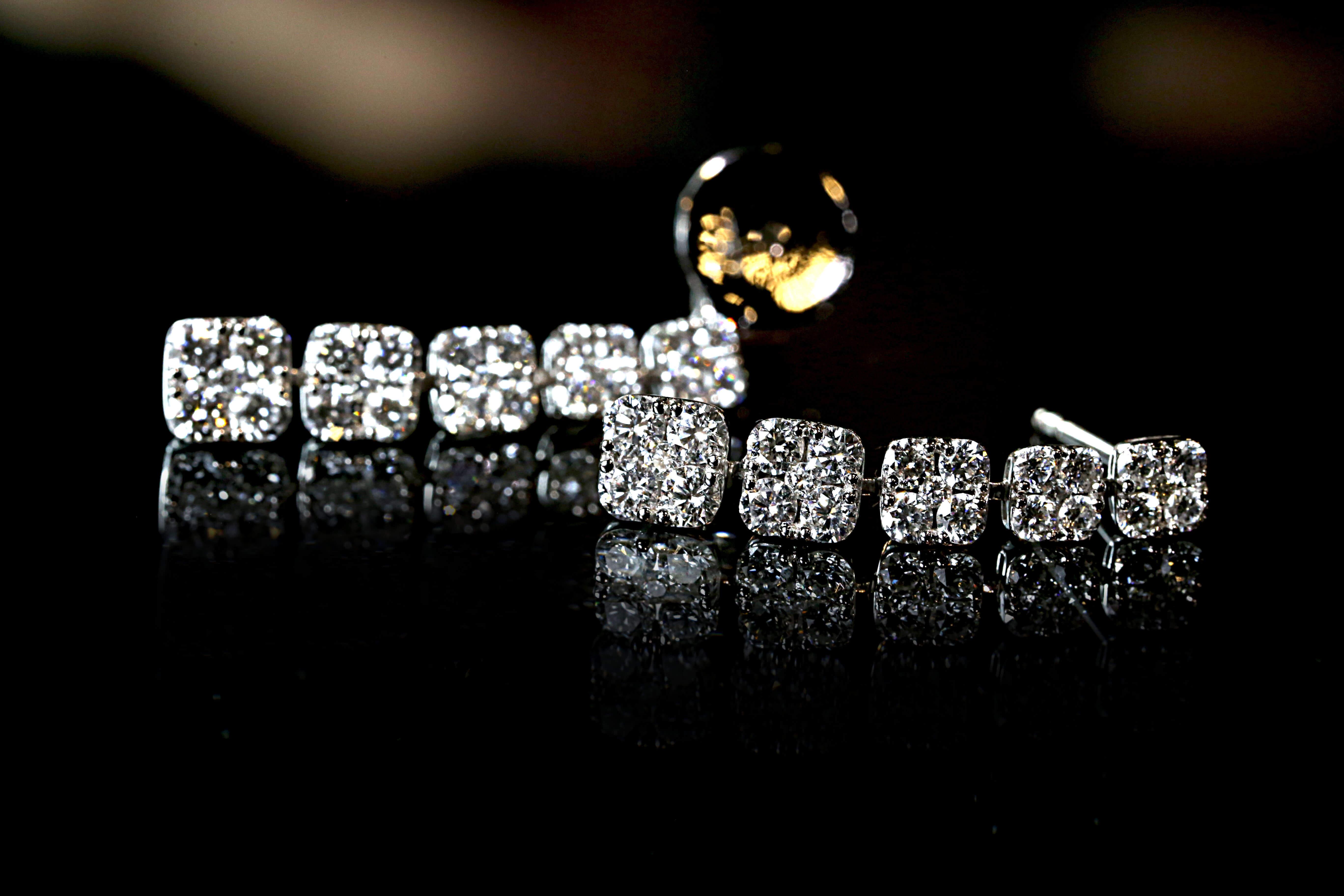 訂製珠寶_鑽石耳環